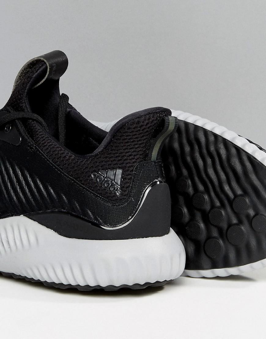9470be222605 Lyst - adidas Running Alphabounce Sneakers In Black By4264 in Black