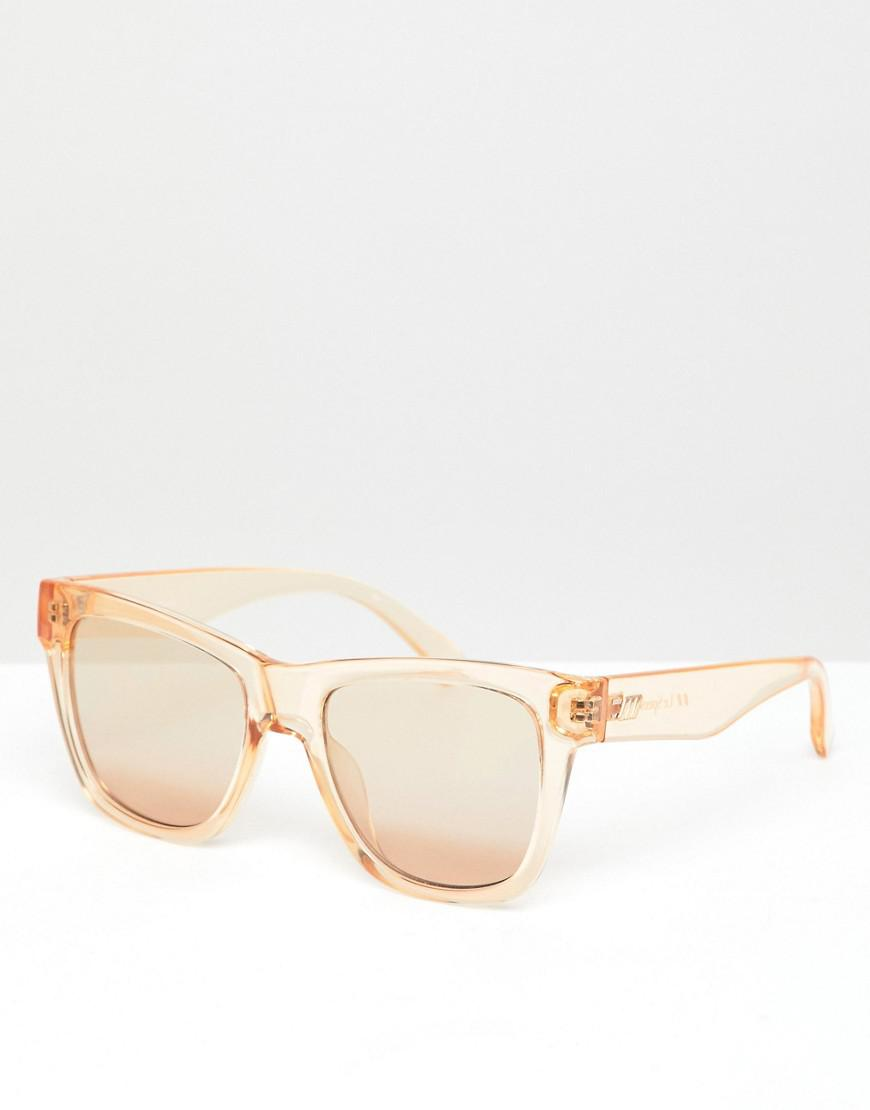 1c2ab126cf Lyst - Le Specs Escapade Square Sunglasses In Tan in Brown for Men