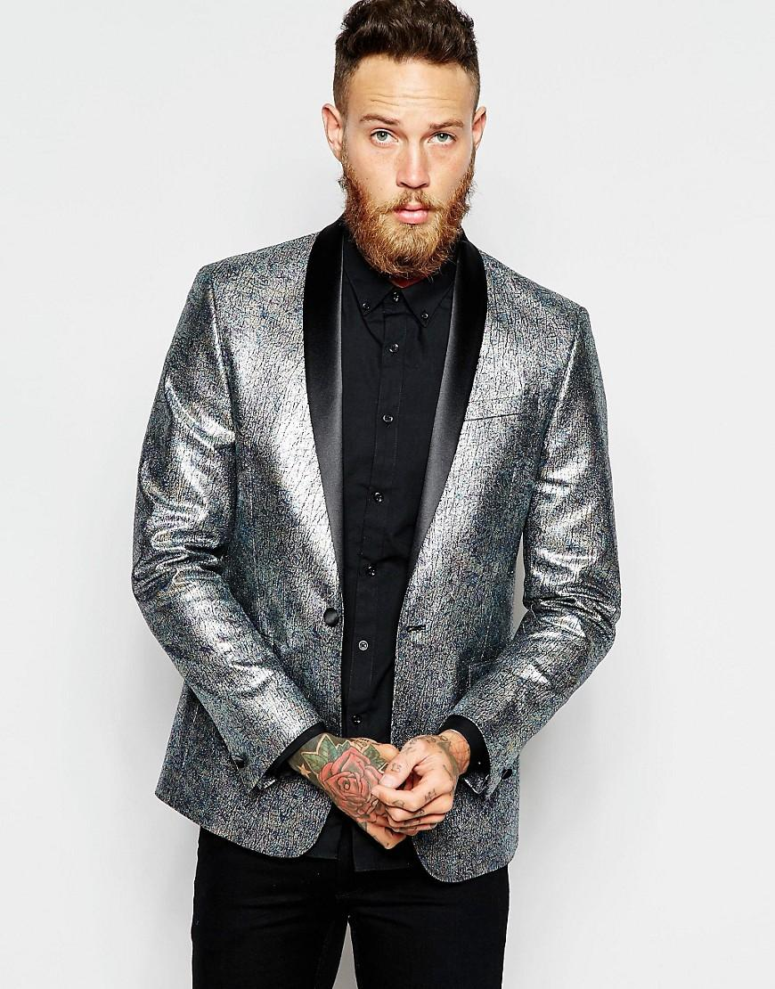 Discover men's suit styles with ASOS. Shop for a range of men's suits, blazers, dress suits and mix and match suit jackets & suit pants. Find this Pin and more on SHREW Lucentio/Tranio by April Bennett. ASOS+Slim+Fit+Suit+in+Herringbone+Grey.