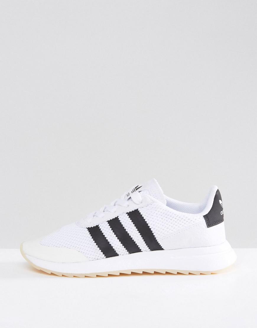 fc0590d182d Lyst - adidas Originals Originals White Flb Sneakers in White