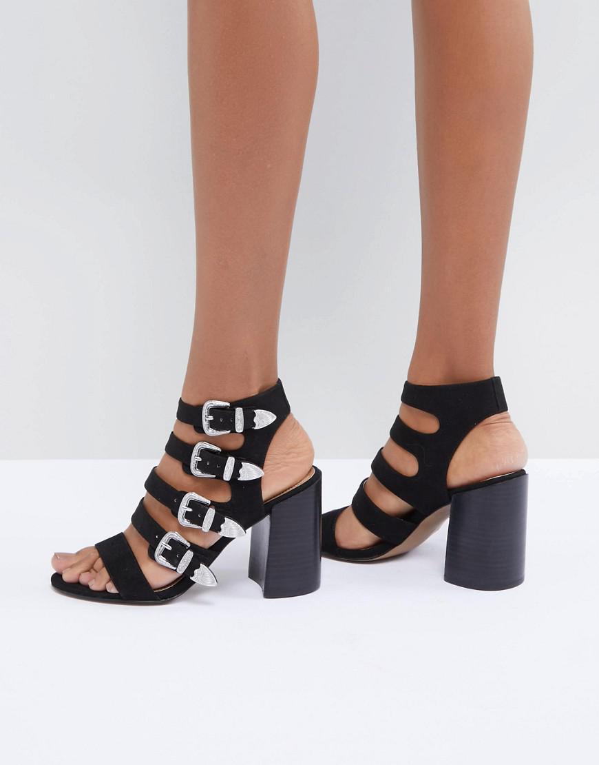 DESIGN Tamsina Heeled Sandals - Grey Asos gG9ate