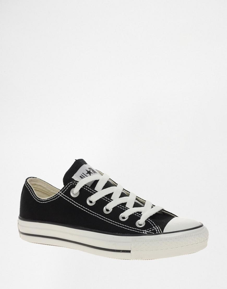 76fde7f0a8ab68 Lyst - Converse Chuck Taylor All Star Core Black Ox Trainers in Black