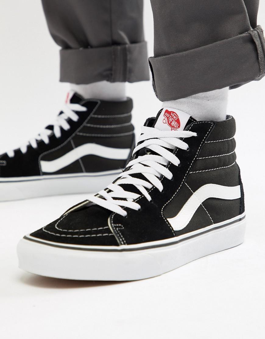 dc0ce0ed33a Vans Sk8-hi Sneakers In Black Vd5ib8c in Black for Men - Lyst