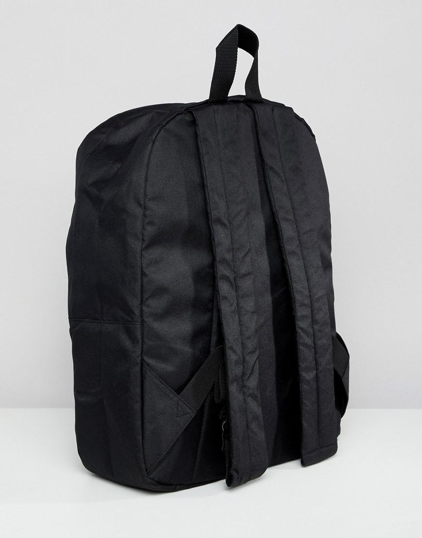f535c2818e0 Lyst - Asos Backpack In Black With Not Today Embroidery in Black for Men