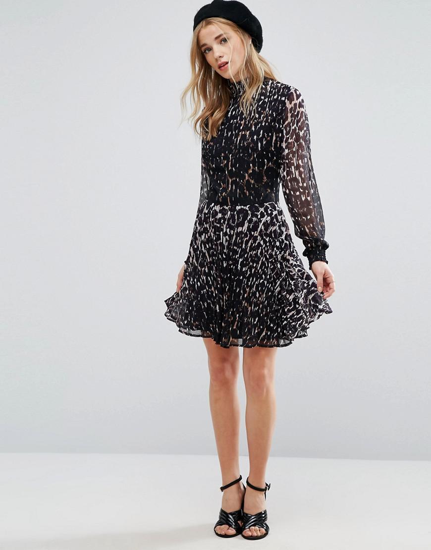 b6ccdb92edb New Look High Neck Black Lace Dress - Gomes Weine AG