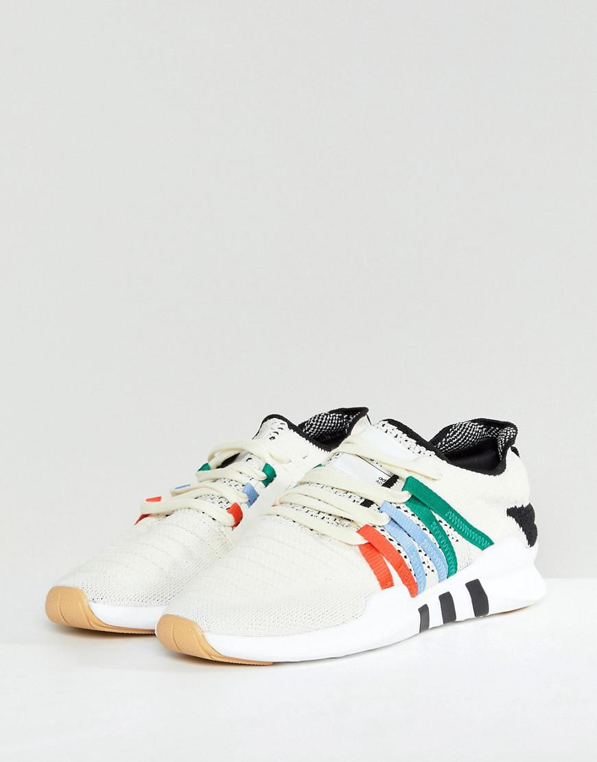 premium selection 12a87 2f8b8 Lyst - adidas Originals Eqt Racing Adv Trainers In Off White