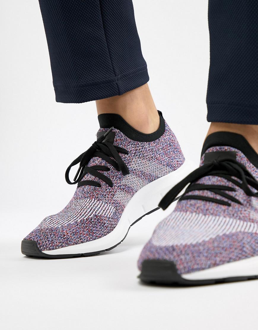 581287a0f adidas Originals Swift Run Primeknit Sneakers In Purple Cq2896 in ...