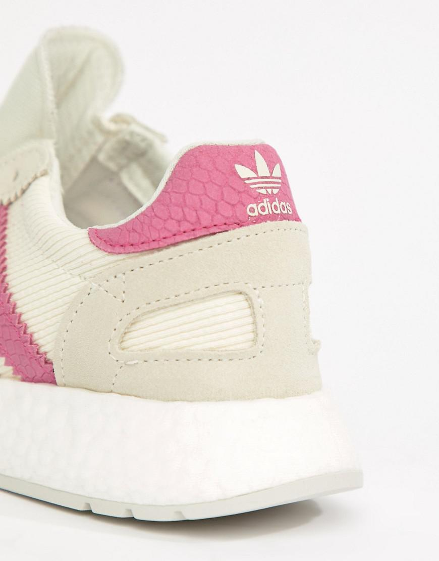 the latest 5c199 7e2b5 Adidas Originals - I-5923 Sneakers In White And Pink - Lyst. View fullscreen