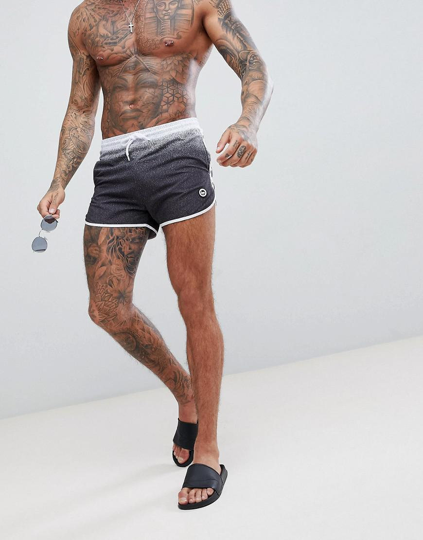 Runner Swim Shorts In Navy Fade - Navy Hype Discount Great Deals Cheap Sale 100% Original Free Shipping Explore NgU338f