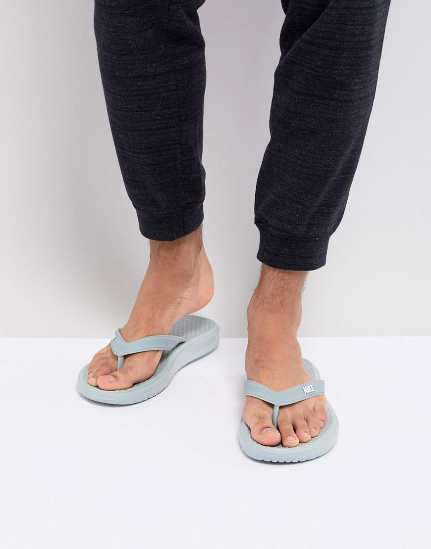 857550a2f Nike Solay Thong In Grey 882690-008 in Gray for Men - Lyst