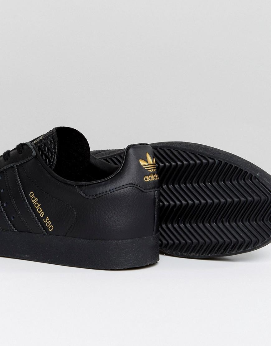 1e881b9f2c63b3 Lyst - adidas Originals 350 Sneakers In Black By1861 in Black for Men