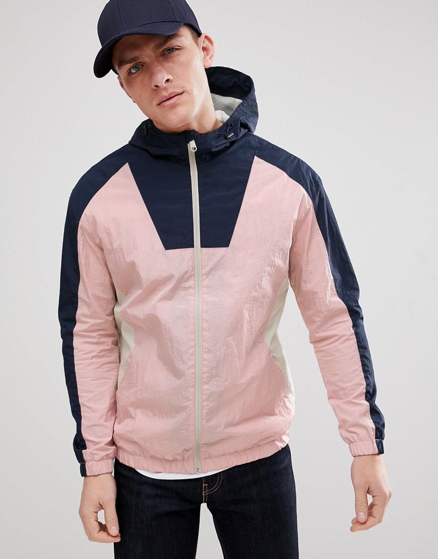 new design 100% genuine the latest Originals Colour Block Windbreaker Jacket