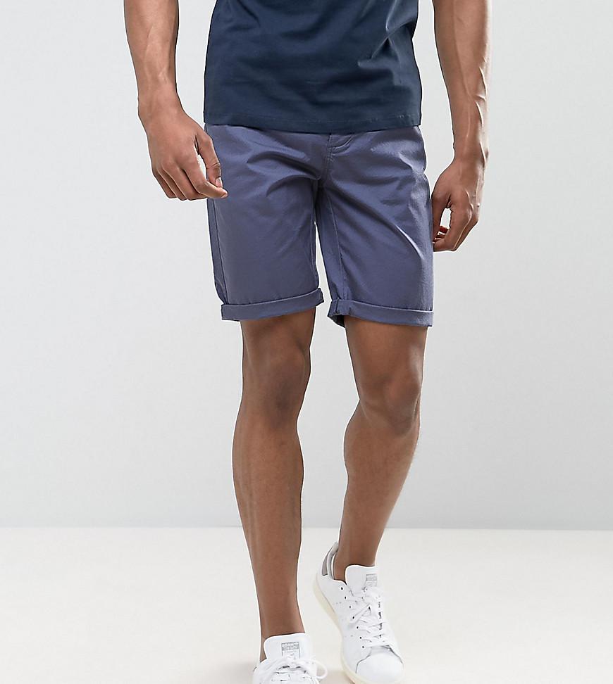 ASOS. Men's Blue Tall Slim Chino Shorts ...