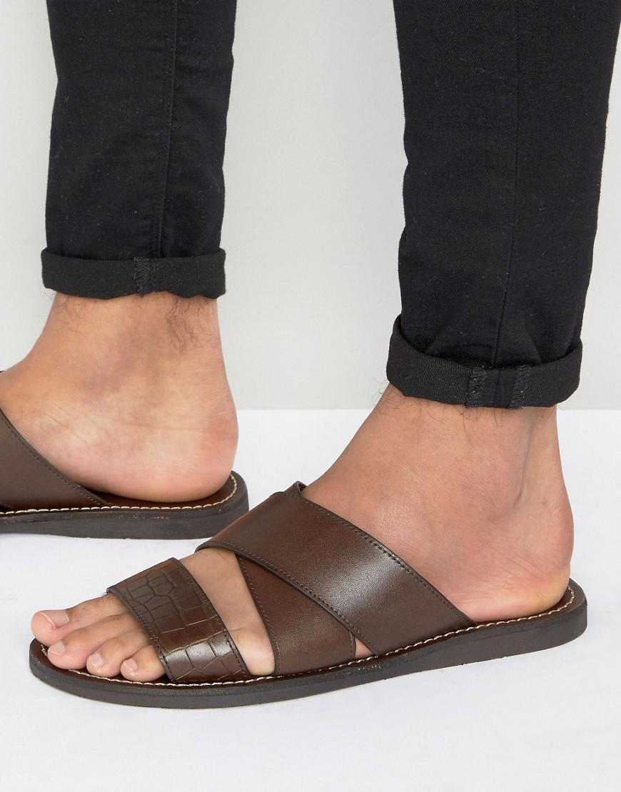 Lyst Aldo Rauser U Sandals In Brown For Men