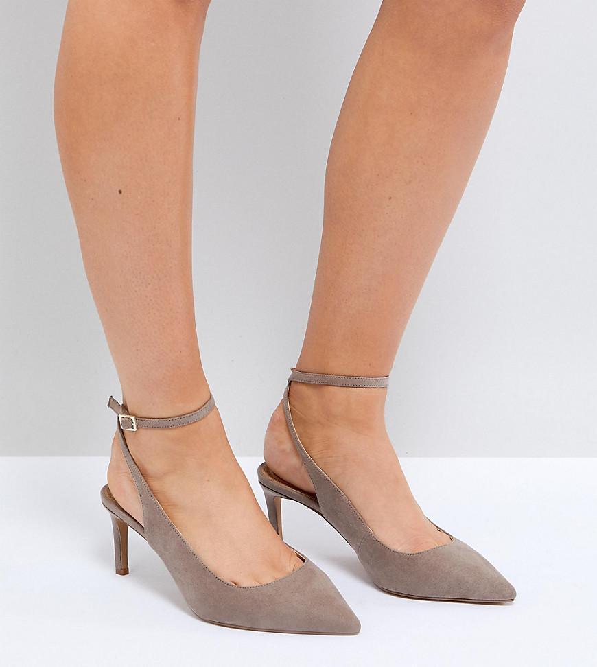 SABRINA Wide Fit Mid Heels - Pale gold Asos 62Z4aj