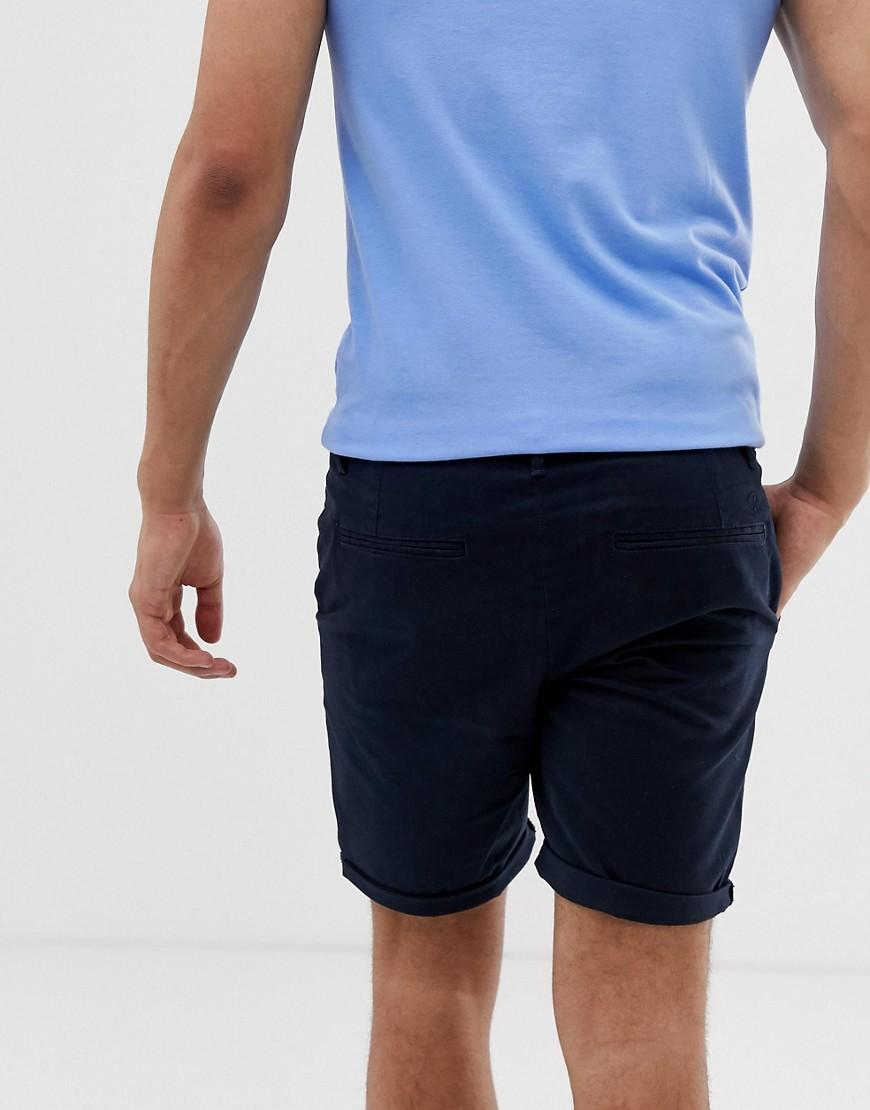 c95e571109 River Island Shorts In Navy in Blue for Men - Lyst
