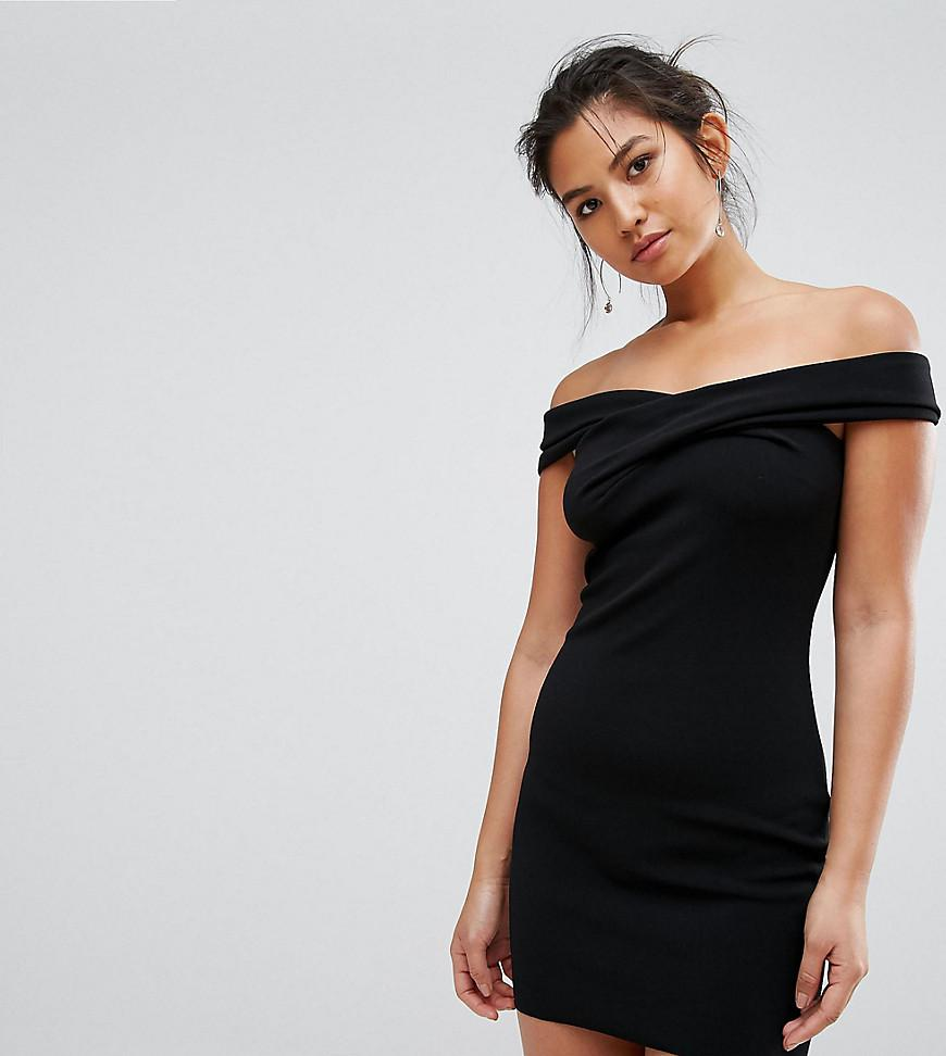 89255a4a0749 Bec & Bridge Luxe Exclusive Bardot Mini Dress in Black - Lyst