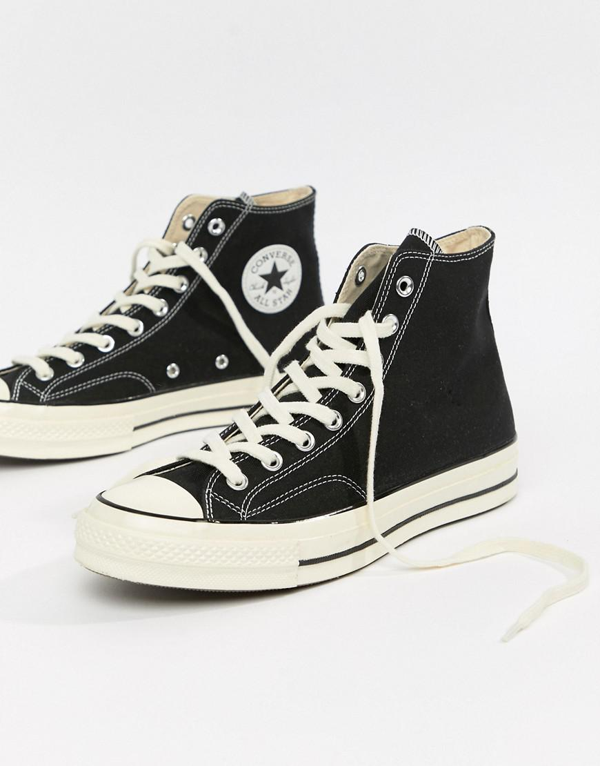 ca71564dc425 Converse Chuck Taylor All Star  70 Hi Trainers In Black 162050c in ...