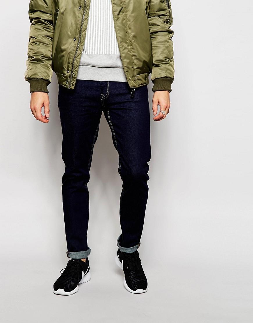only sons indigo jeans in slim fit in blue for men lyst. Black Bedroom Furniture Sets. Home Design Ideas
