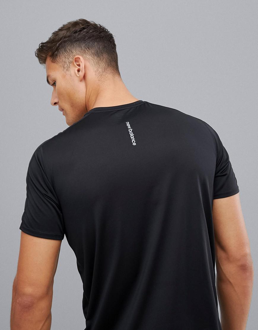 a418cb2ea42 New Balance Running Accelerate T-shirt In Black in Black for Men - Lyst