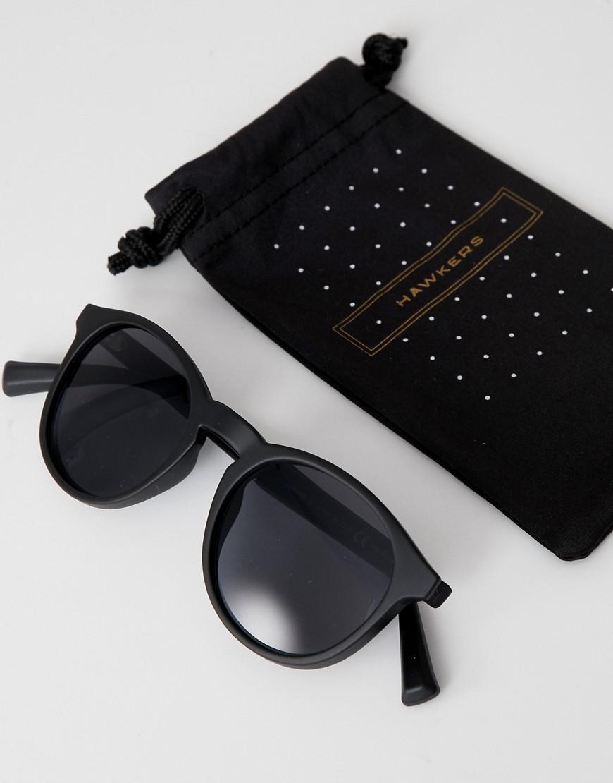 15de62eca4 Lyst - Hawkers Hawkers Bel-air Round Sunglasses In Black in Black for Men