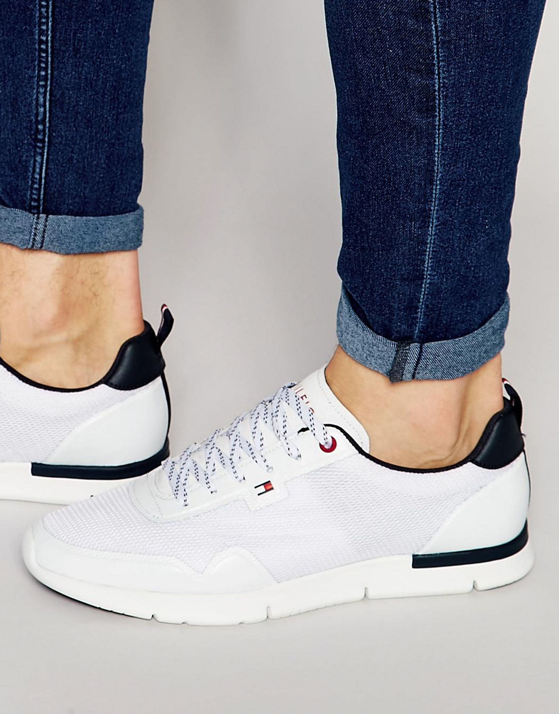 3156e9d57 Tommy Hilfiger Tobias Runner Sneakers in White for Men - Lyst