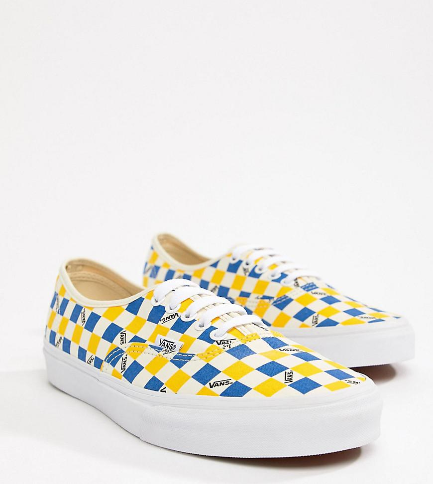 f33f5a8a45c41b Vans Factory Pack Authentic Trainers In Yellow Exclusive At Asos in ...