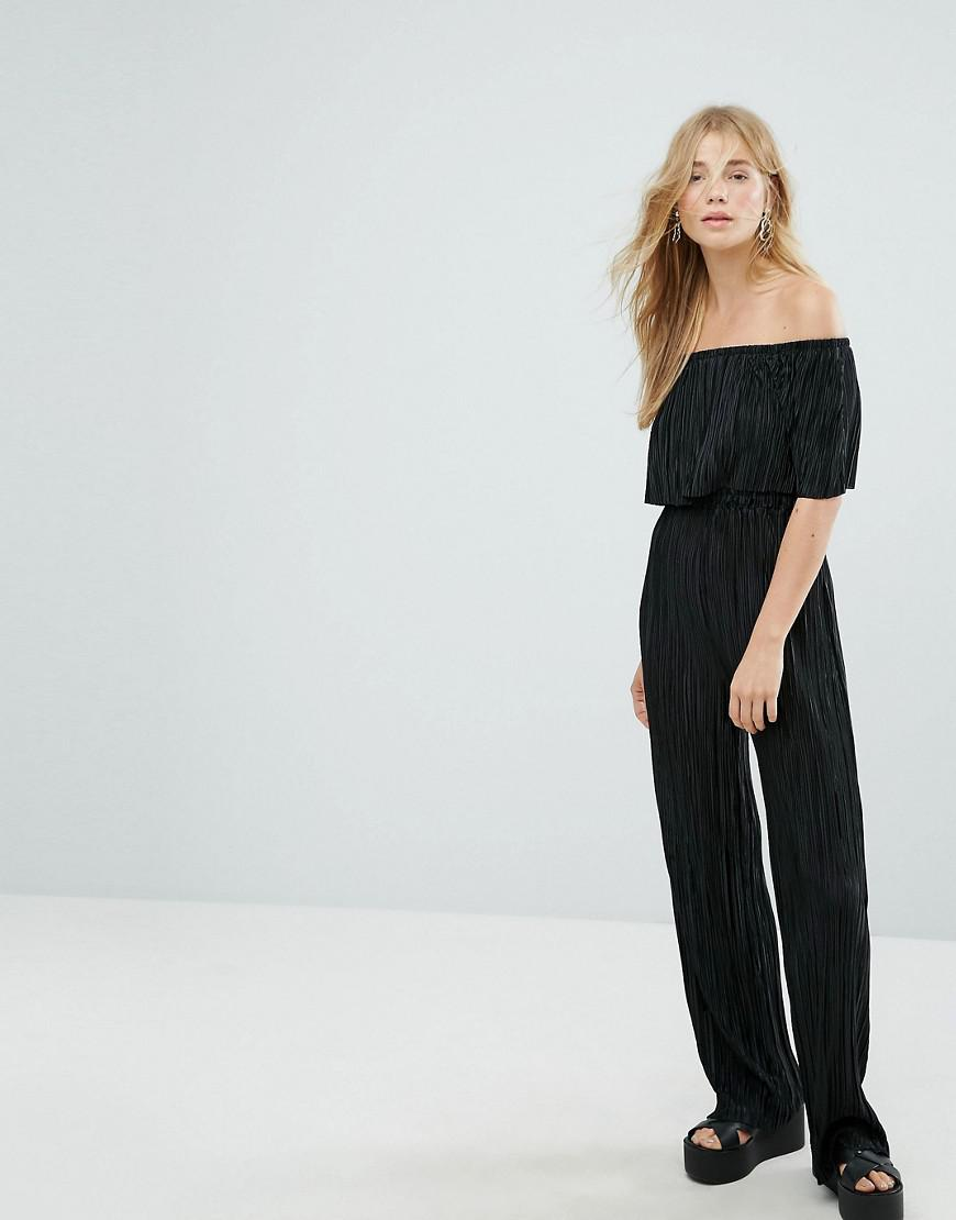 Factory Outlet Womens Button Thru Frill Hem Jumpsuit New Look Petite For Sale Wholesale Price Explore Cheap Online Outlet Fashionable Official 404l1
