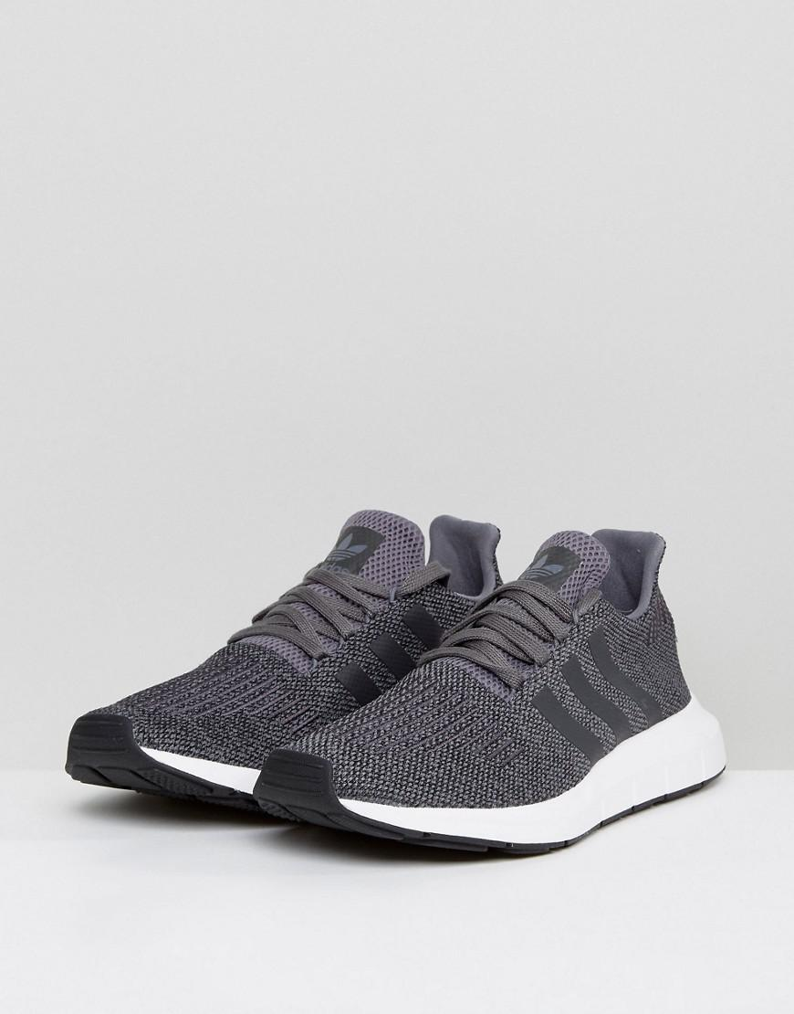 6c8973341776 Lyst - adidas Originals Swift Run Trainers In Grey Cg4116 in Gray ...