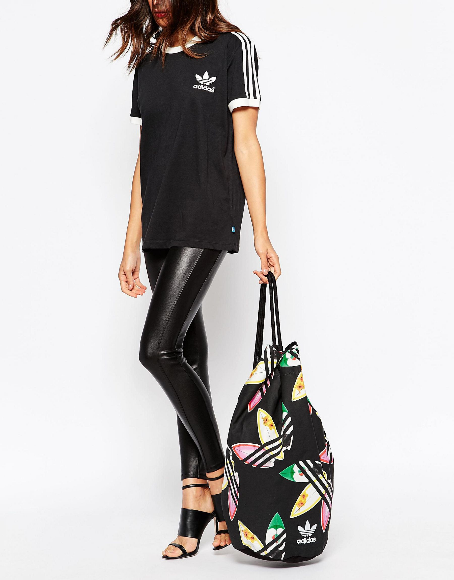 446a6438f46 adidas Originals Originals X Pharrell Williams Duffle Backpack in ...