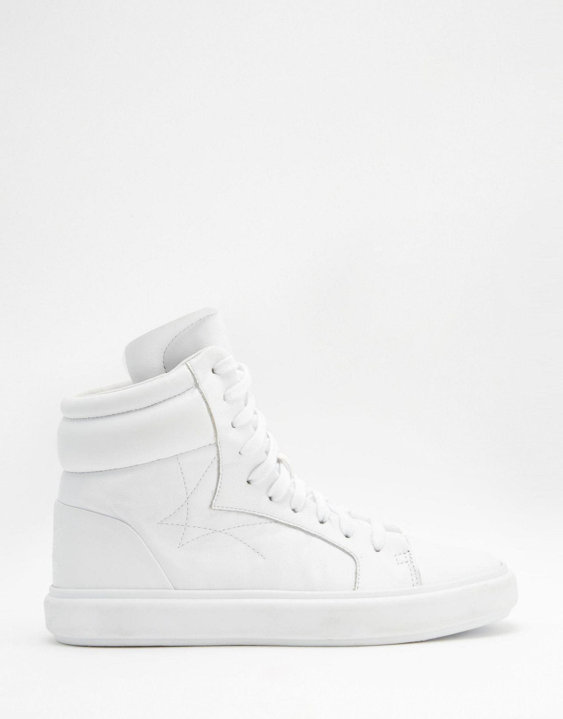 cf8bfc455 Lyst - adidas Originals Originals Honey 3.0 Mid White Trainers in White