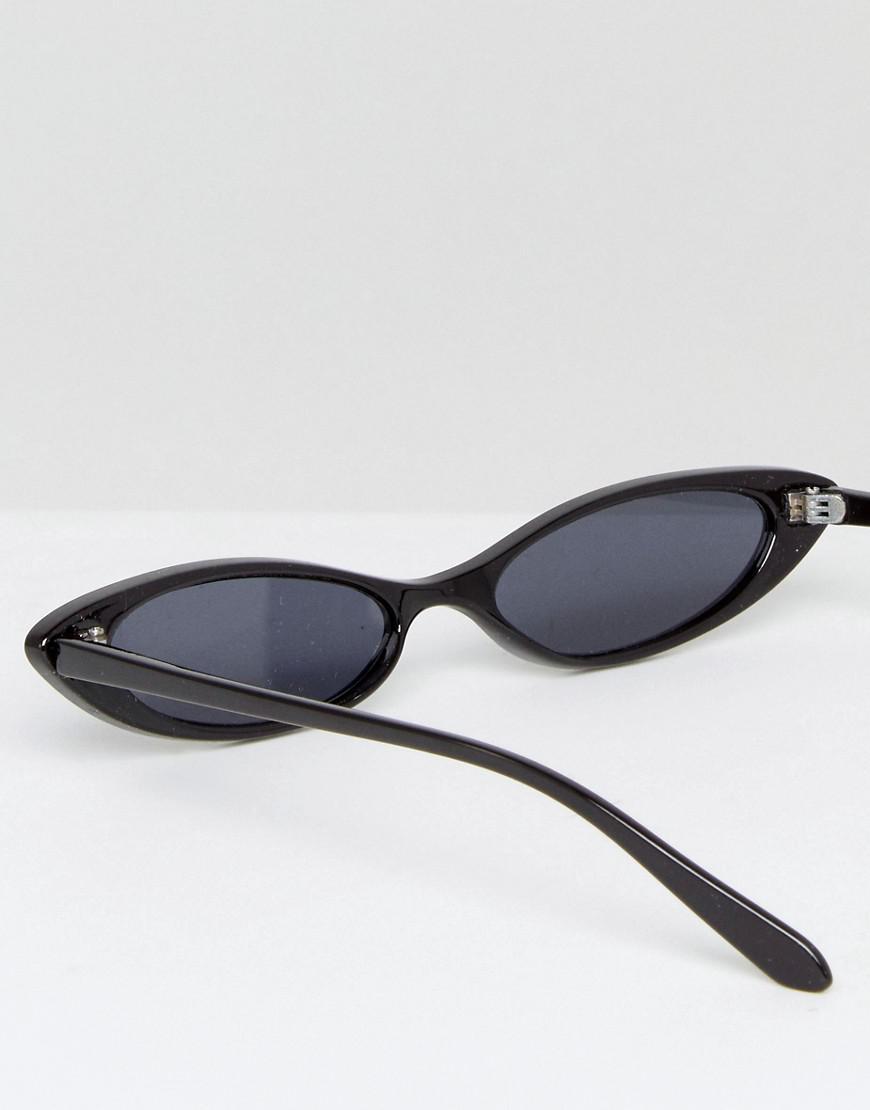 e8d79569bb5 Lyst - ASOS Design Small Cat Eye Fashion Glasses