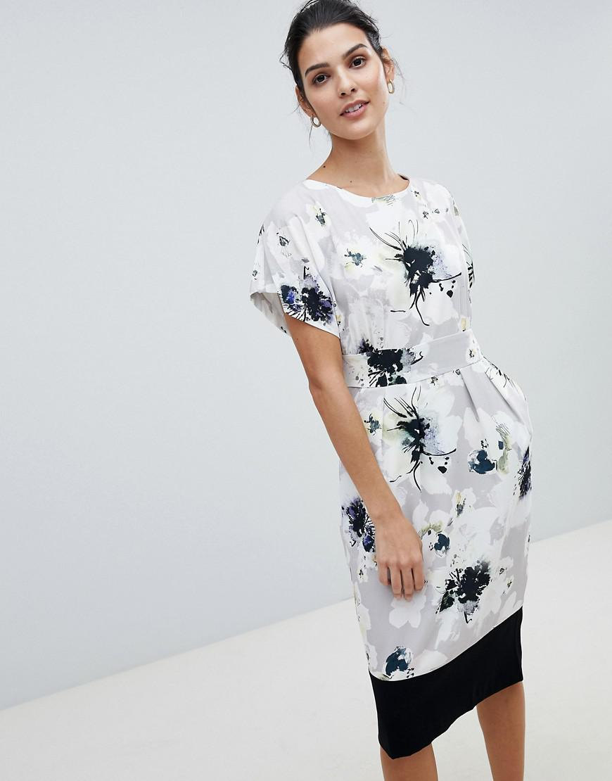 Closet Block Boarder Dress - Multi Closet Hs9gJ2