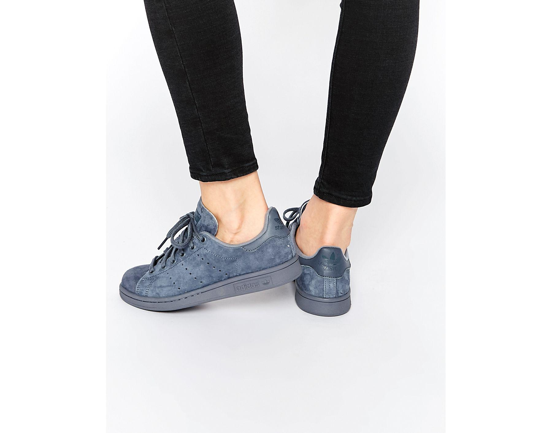 5c6689a28 adidas Originals Originals Onix Stan Smith Sneakers in Blue - Lyst