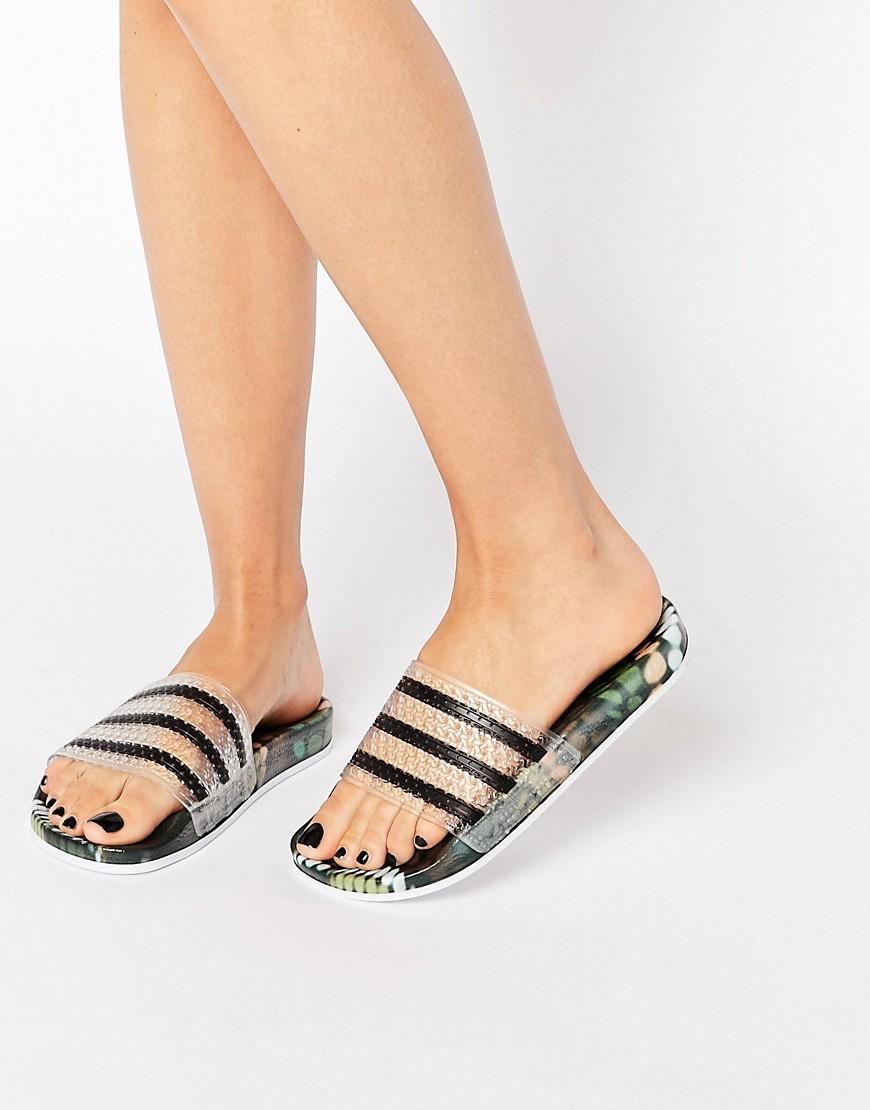 261dfed52 Lyst - adidas Originals Originals X Rita Ora Slider Flat Sandals in ...