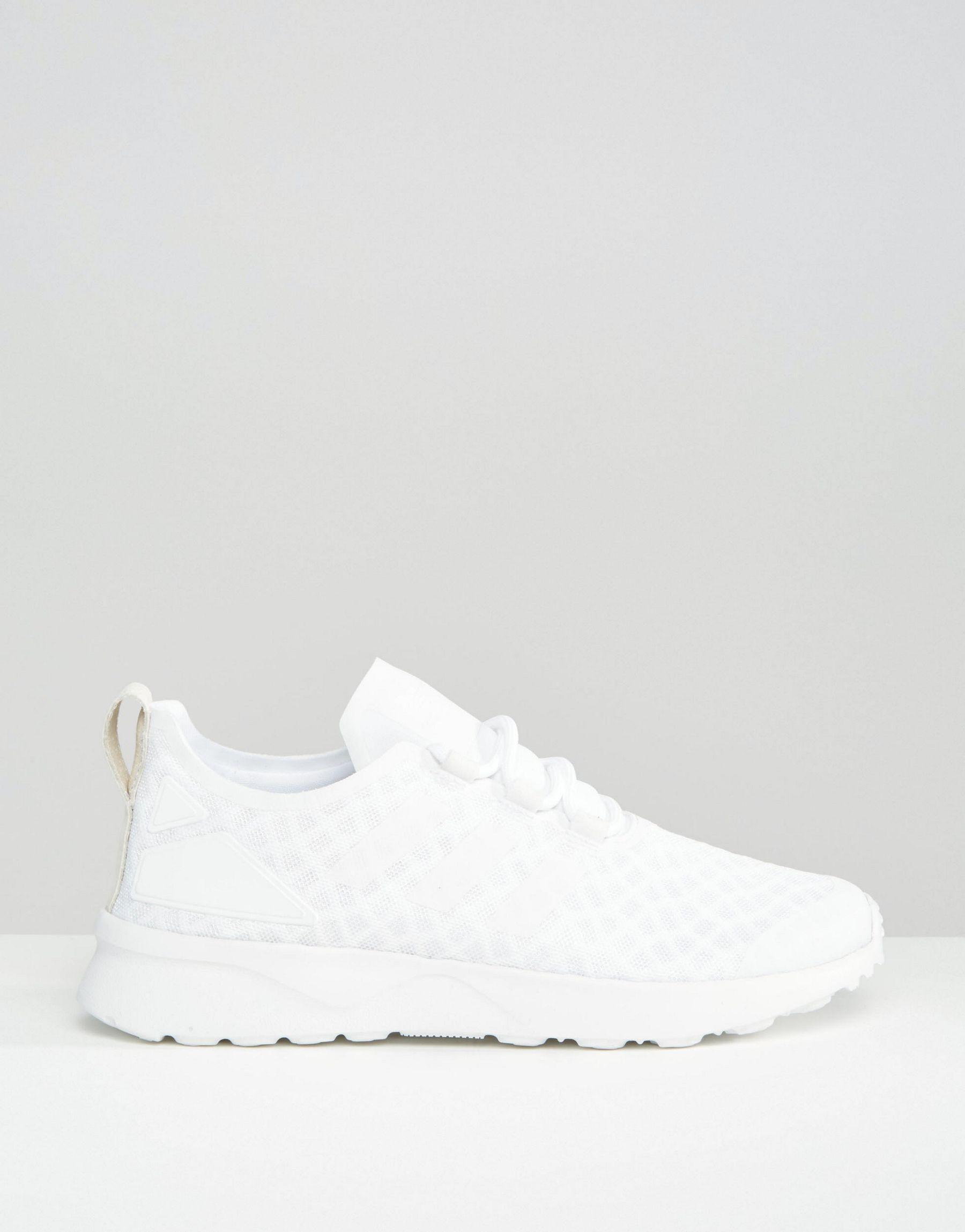 6ef12e30658b ... cheap lyst adidas originals originals off white zx flux verve mesh  265c0 57e19