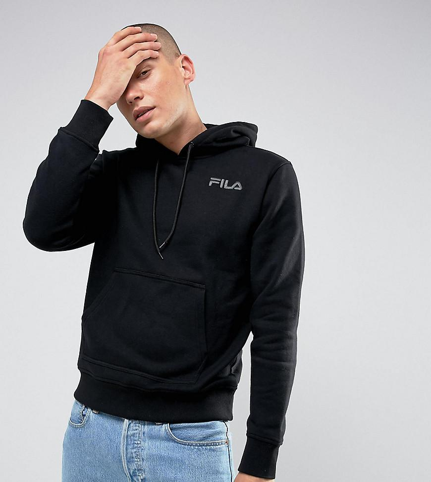 3c5ef9f91d19 Fila Fila Black Hoodie With Small Logo In Black Exclusive To Asos in ...