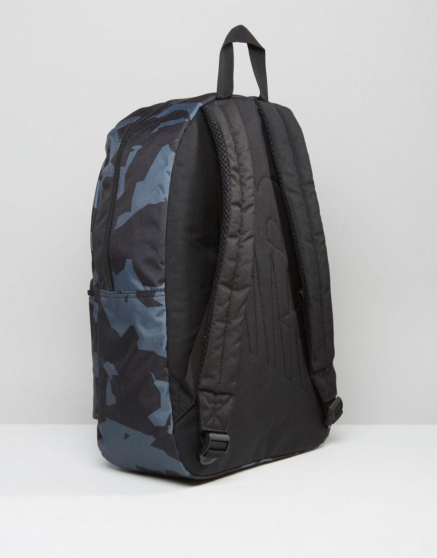 d32779b0336 New Balance Camo Backpack In Black in Black for Men - Lyst