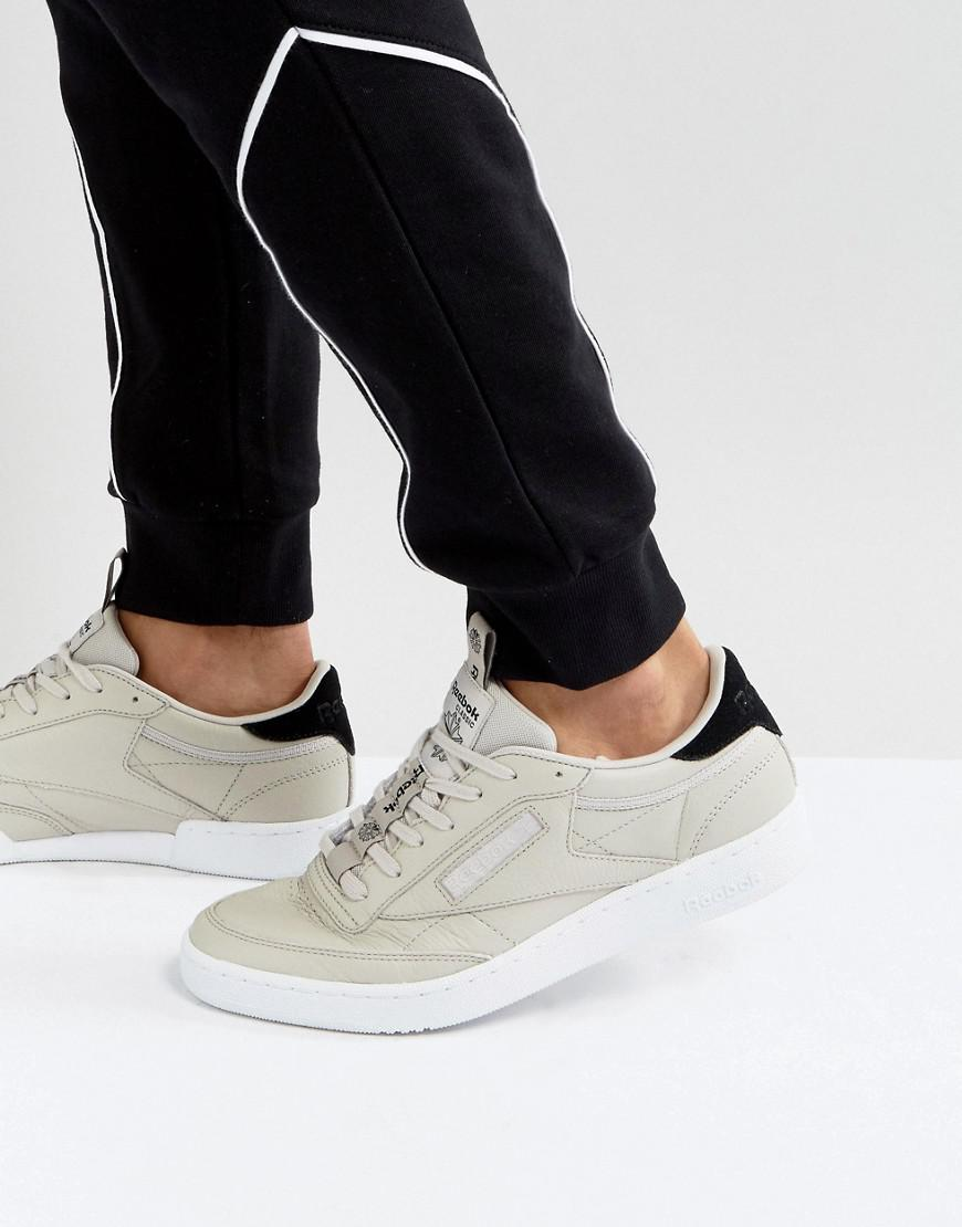7d53bfc27241 Reebok Club C 85 It Trainers In Grey Bs8255 in Gray for Men - Lyst