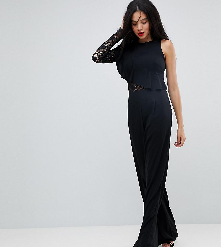 Up To Date Discount Best Place Flare Leg Jumpsuit - Black Non-Blonde Shopping Online Cheap Price BvnMZ5nw