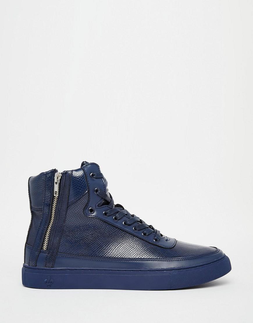 Criminal Damage Shoes Blue