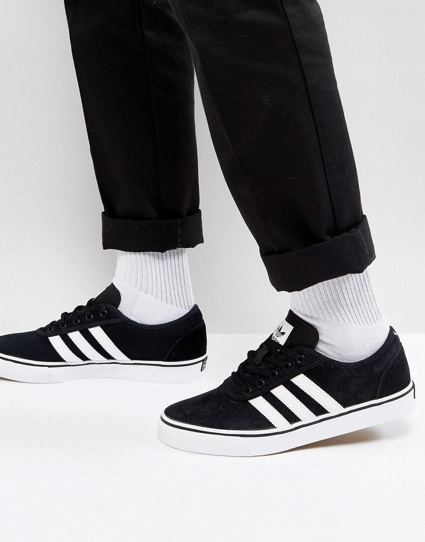52b2a98f769 Lyst - adidas Originals Adi-ease Sneakers In Black By4028 in Black ...
