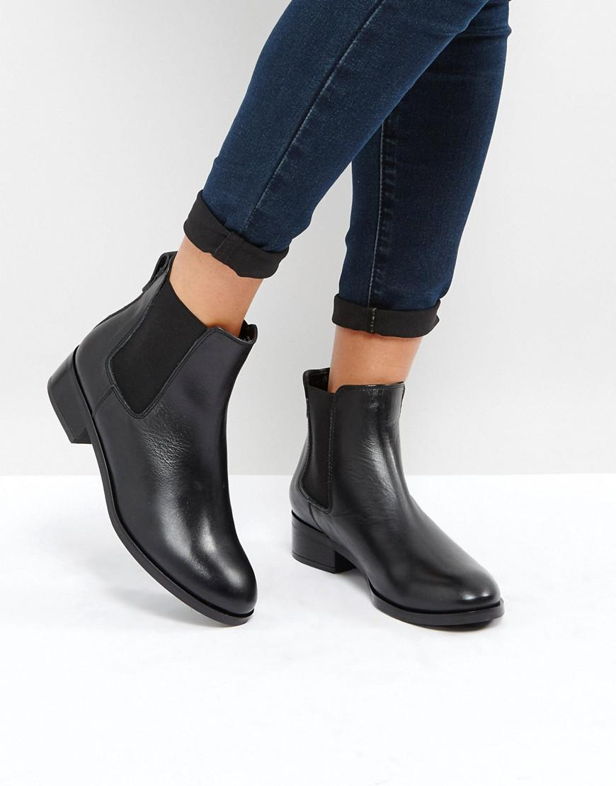 ALDO Meaven Leather Chelsea Ankle Boots in Black - Lyst 9fb6edd8fe4f