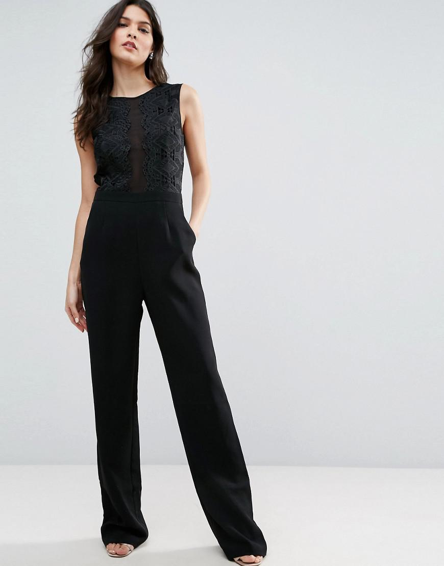 2f5023ed590 Ted Baker Kayle Jumpsuit in Black - Lyst