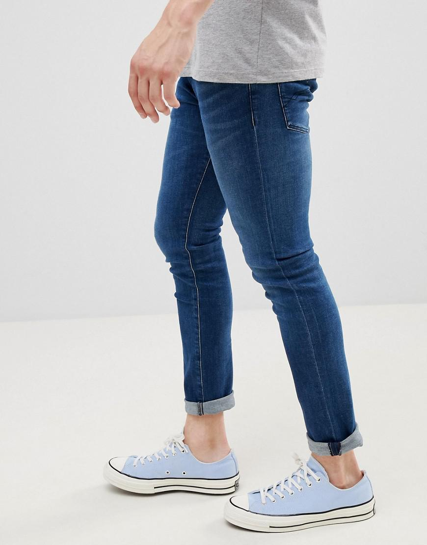 a2b70612 Tommy Hilfiger Skinny Fit Jeans in Blue for Men - Lyst