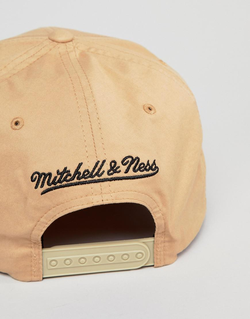 Mitchell   Ness 110 Flexfit Cap Exclusive To Asos in Natural for Men - Lyst 211bd1425eda