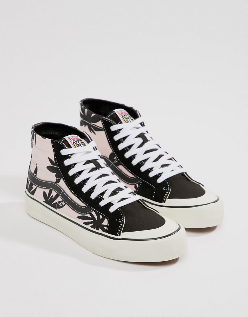 Vans Sk8-hi 138 Decon Sf Sneakers In Pink Va3mv1r33 in Pink for Men - Lyst 763cd4ab8
