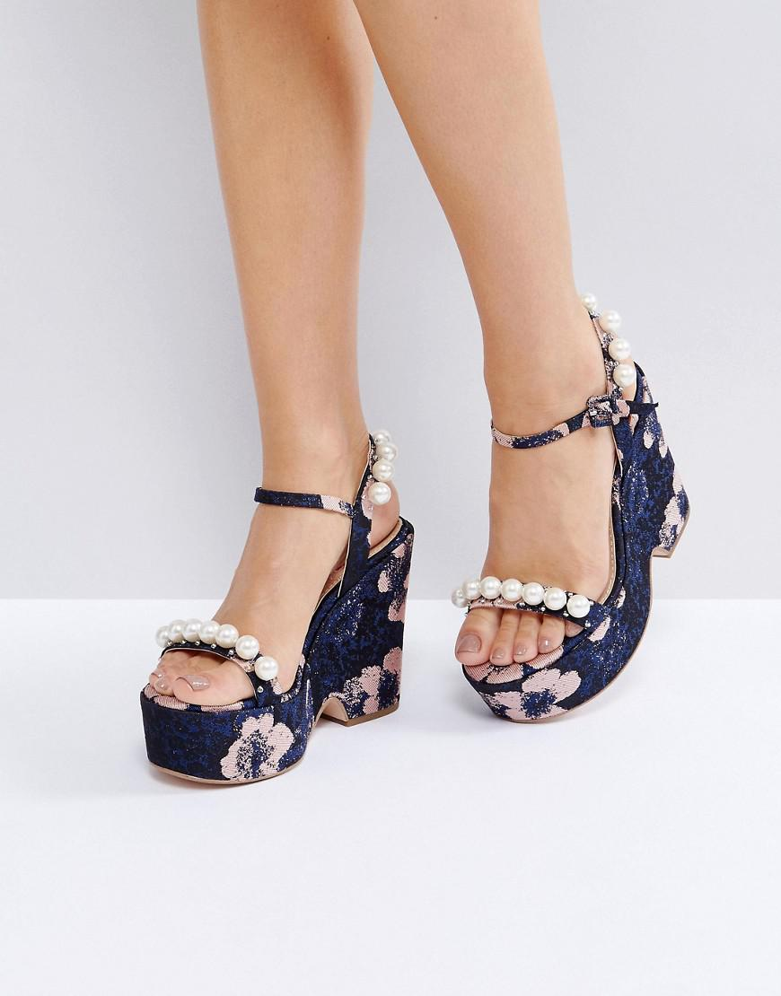 Kurt Geiger KG By Kurt Geiger Hettie Platform Sandals