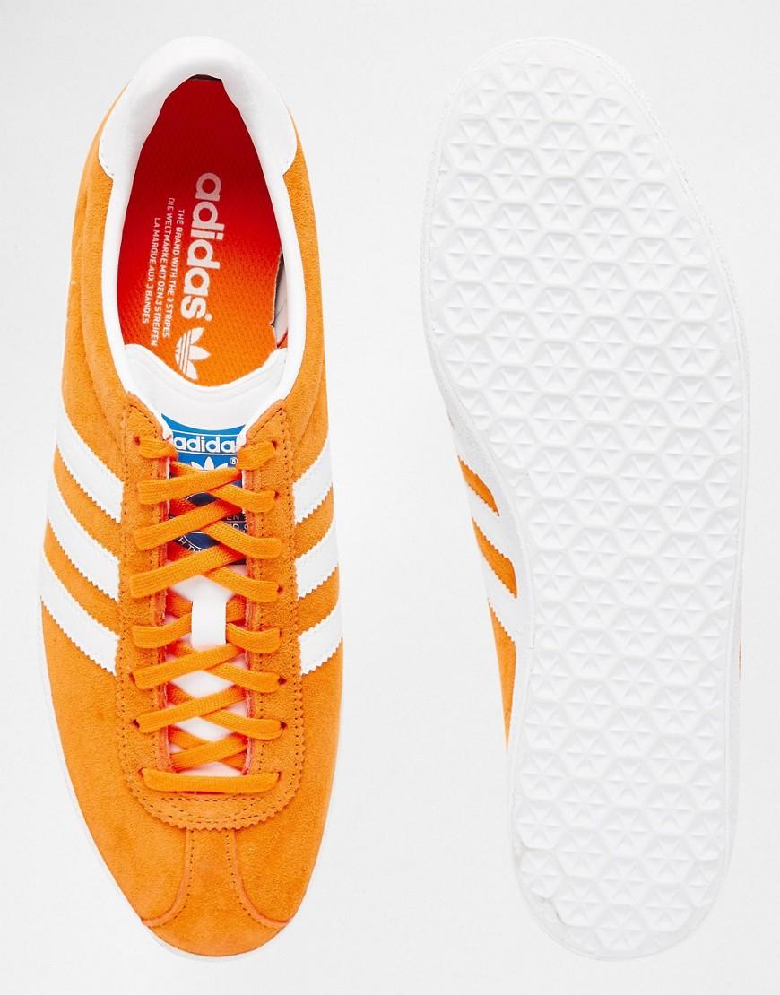 Lyst Adidas Originali Gazzella Og Formatori S74848 Uomini. In Arancione Per Gli Uomini. S74848 28052a