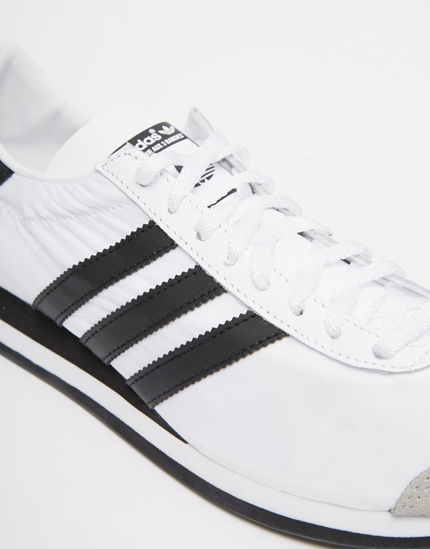 the best attitude 366e1 fcfc3 Lyst - adidas Originals Country Og Trainers S79106 in Black